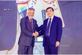 伊利股份成萨基会理事单位 为世界健康贡献中国力量